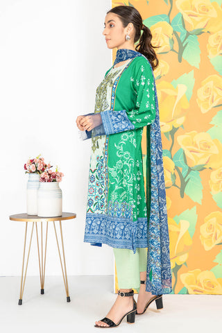 3PC Print Embroidery LS20119