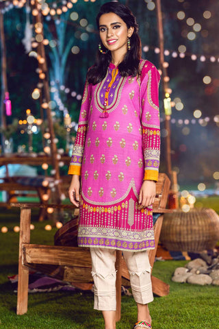 Single Shirt Khaddar Print LW20563