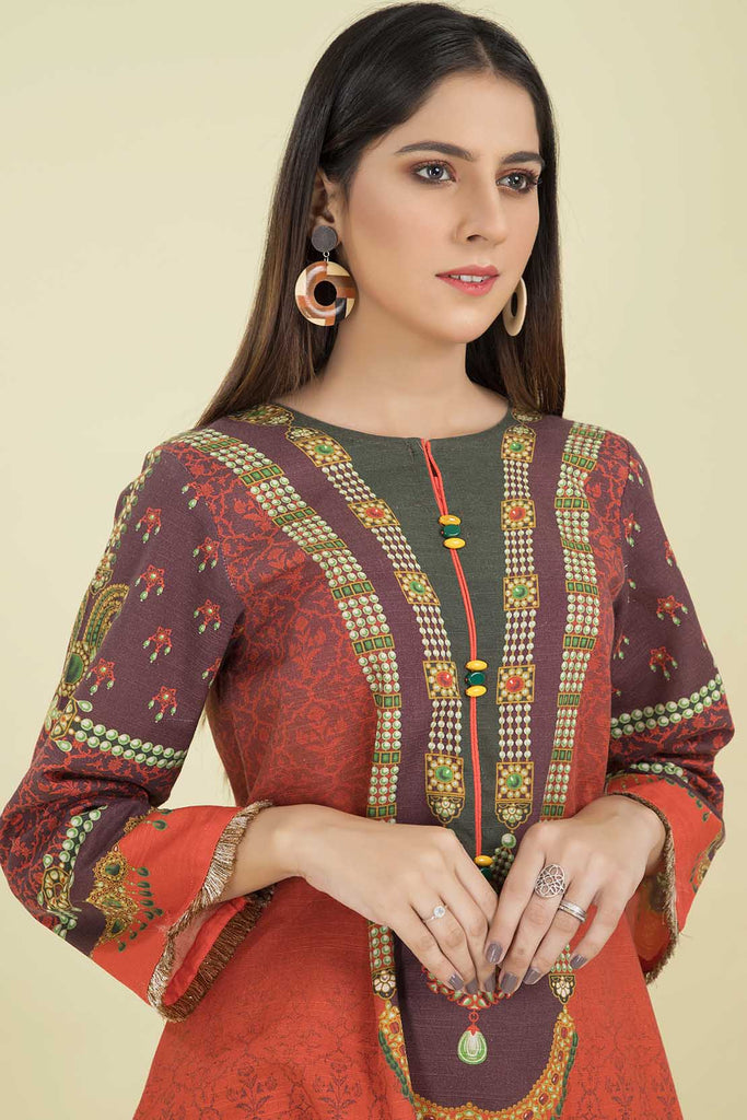 Single Shirt Khaddar Print LW20564