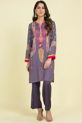 Single Shirt Khaddar Embroidery LW20576