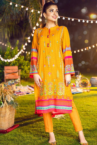 Single Shirt Khaddar Embroidery LW20621