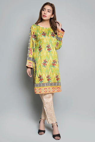Warda Designer Collection - Single Shirt Lawn Embroidery Print Embroidery LS18213