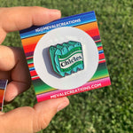 Teal Chicles PIN