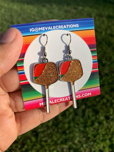 EARRINGS Sandia Con Chile