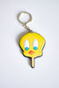 Keychain Yellow Bird (rubber)