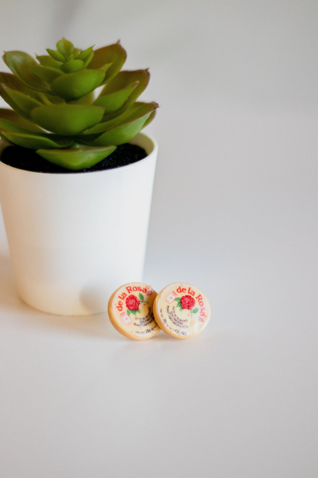 Handmade Mazapan Earrings