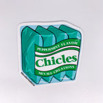 STICKER Teal Chicles