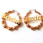 TOXICA hoops earrings