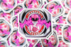 Pink power ranger sticker
