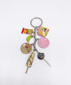 7PC Mexi Keychain (Silver)