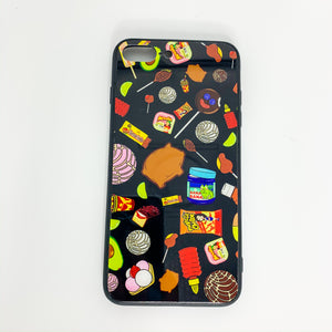 Black Antojitos Phone Case