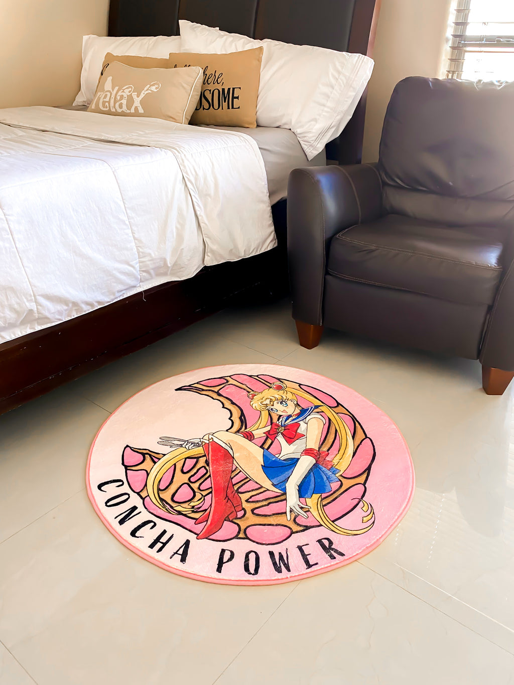 concha power rug