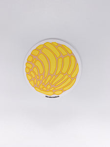Sticker Yellow Concha