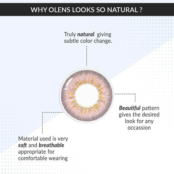 Buy O-LENS Color Lenses | Jenith3 Pink color lenses ( 6 Month ) | Color Lens