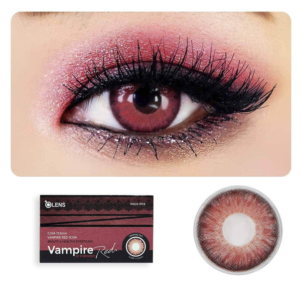 Vampire Red ( 1 Month ) - o-lens.co.in