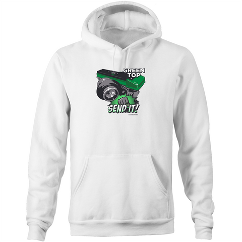Green top Barra ... Just Send it! Hoodie