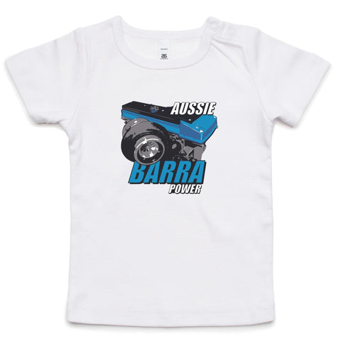 Aussie Barra Blue Tee INFANT