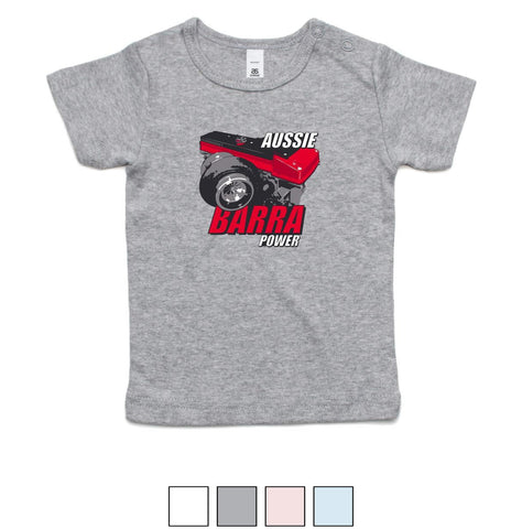 Aussie Barra Red Tee INFANT