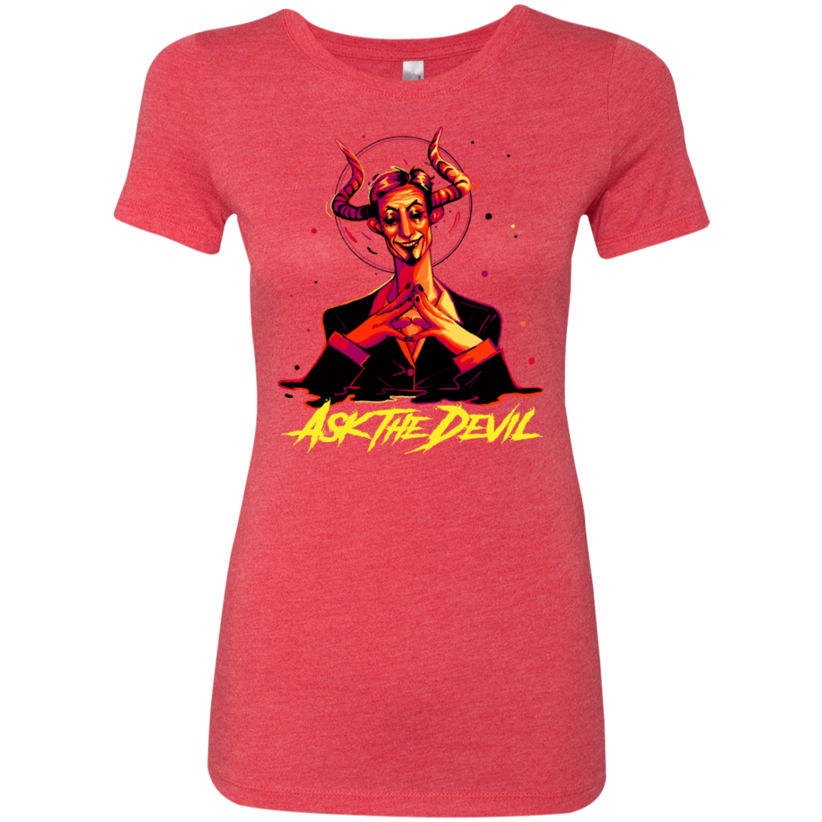 Ask the Devil - Red - (Womens)