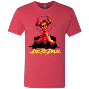 Ask the Devil - Red - (Mens)
