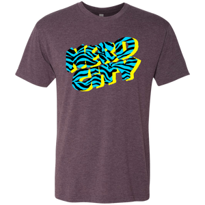 Nerd City Zebra - Purple - (Mens)