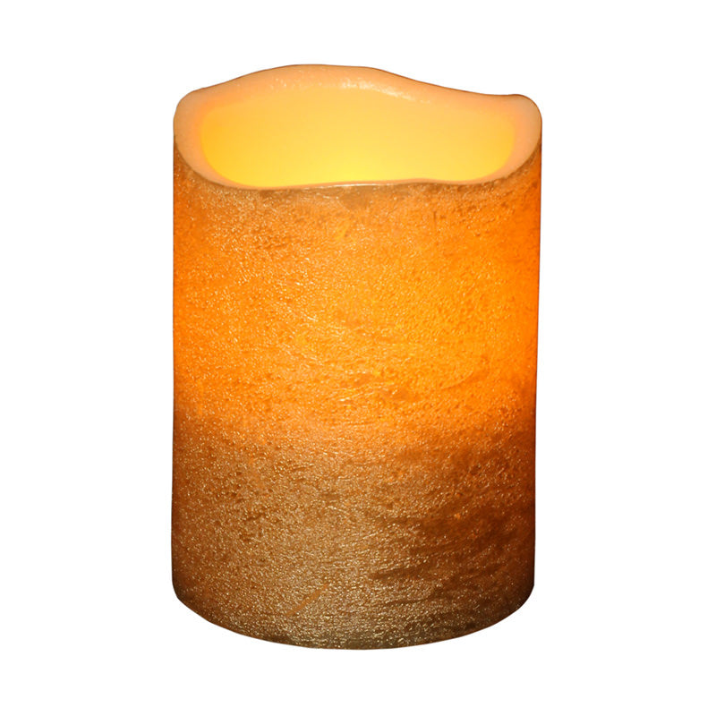 Flameless Candle Small Gold