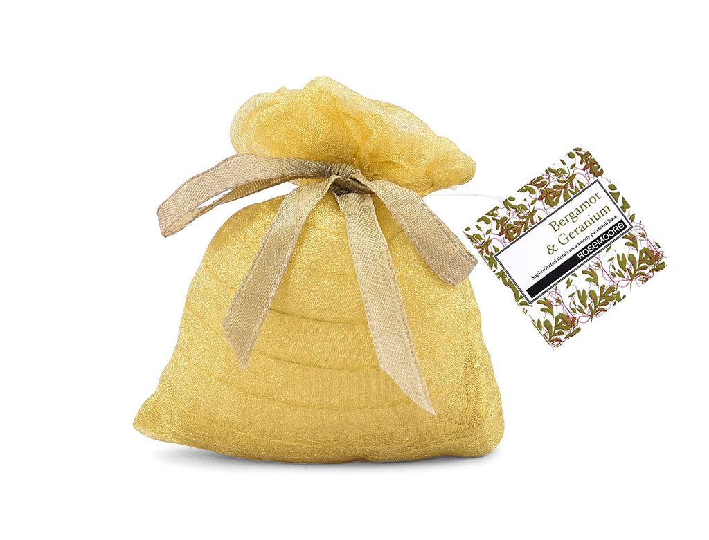 Scented Sack with Bergamot & Geranium Fragrance