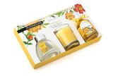 Rosemoore Gift Sets (Reed Diffuser 50 ml with 6 Reeds/Home Scent 50 ml / Scented Glass Candle) (Lemongrass)