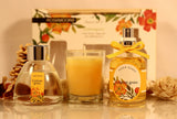 Rosemoore Gift Sets (Reed Diffuser 50ml with 6 Reeds/Home Scent 50ml / Scented Class Candle) (Lemongrass)