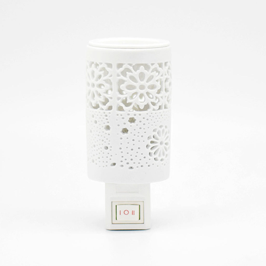 Rosemoore Equilibrium White Plug-in Oil Burner