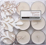 Scented Tea Lights Egyptian Cotton