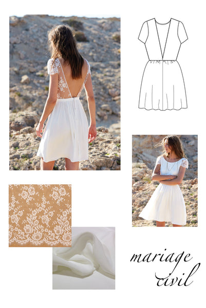 Inspirations Pour Coudre Sa Robe De Mariee Personnalisee 6