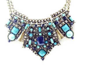 Blue Bejeweled