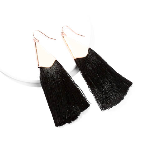 Tassels in Black