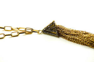 Golden Gate Tassel Necklace