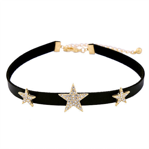 Triple Star Choker
