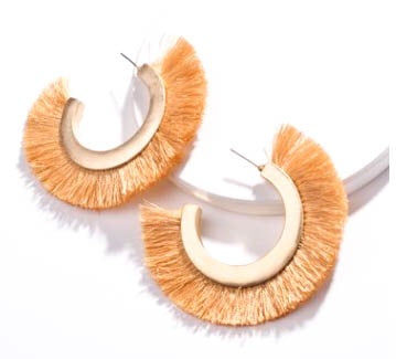 The Perfect Fringe Hoop