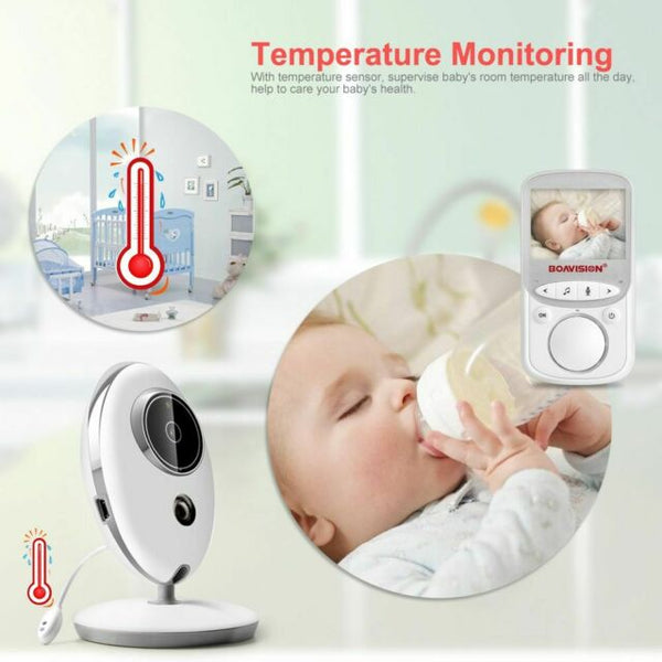 2.4 Inch Portable Wireless Baby Monitor with Camera