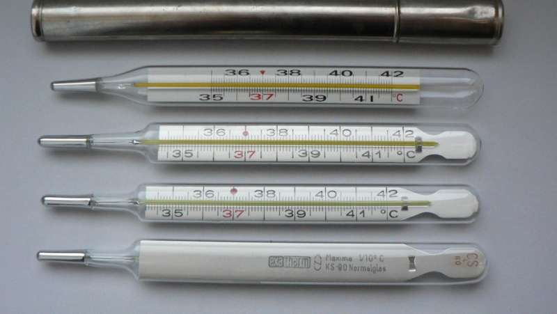 One Mercury Thermometer for Each