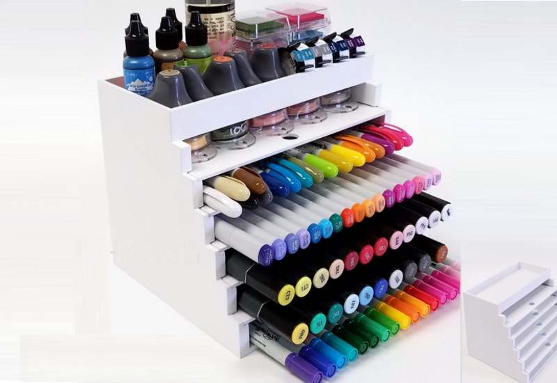 How to Store Pens Vertically or Horizonally