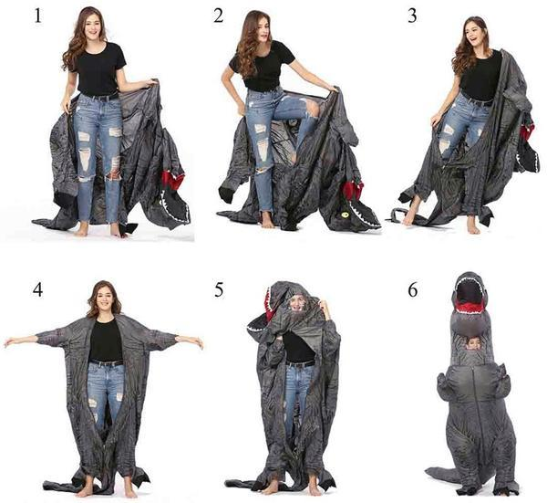 Inflatable Halloween Costume for Kids and Adults