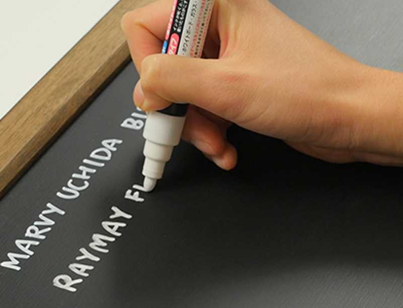 Use White Ink Pen to Fix Ink Bleeding Marks