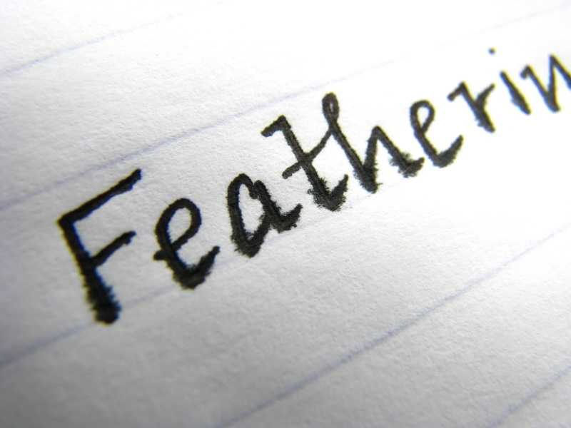 What Is Ink Feathering