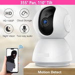Load image into Gallery viewer, Baby Monitor 1080P Night Vision 355° Covered WiFi Camera with SD Card - ChildAngle