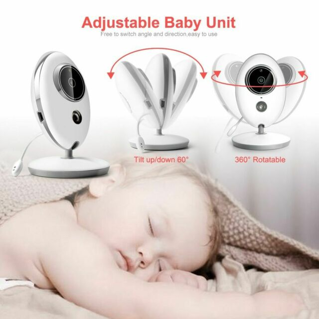 Portable 2.4 Inch LCD Wireless Baby Monitor Camera VB605