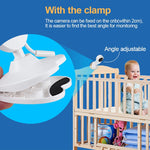 Load image into Gallery viewer, 4.3 inch Video Baby Monitor Camera with Clamp - ChildAngle