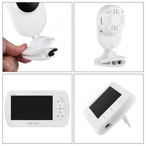 4.3 inch Video Baby Monitor Camera with Clamp - ChildAngle