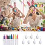 Load image into Gallery viewer, 50 PCS Eggs Painting Kit DIY Blank Easter Eggs with Color Pens