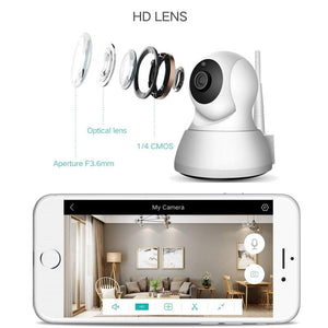 Baby Monitor Security 1080P Wi-Fi P2P Night Vision IP Camera - ChildAngle