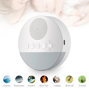 Nature Soothing Baby Sound Machine White Noise Machine for Baby